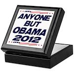 Anyone But Obama Keepsake Box