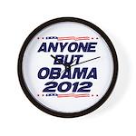 Anyone But Obama Wall Clock