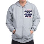 Anyone But Obama Zip Hoodie