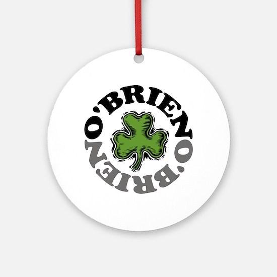 O'Brien Ornament (Round)