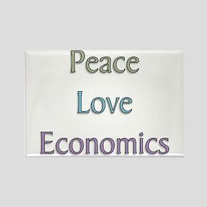 Economics Rectangle Magnet