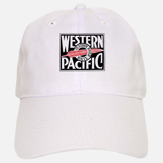 Feather River Route train logo Baseball Baseball Cap