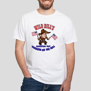Wild Bill's Weekend White T-Shirt