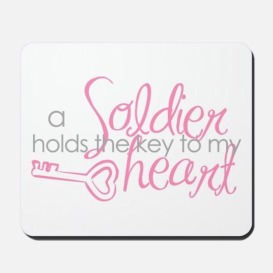 Key to my heart Mousepad