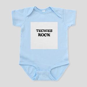 TECHIES ROCK Infant Creeper