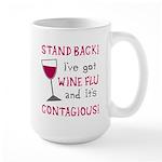 Wine Flu Large Mug