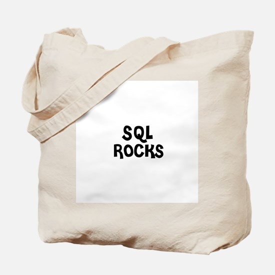 SQL ROCKS Tote Bag
