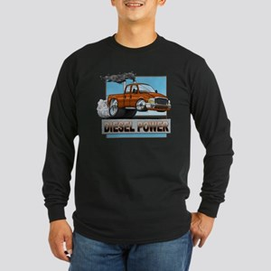 Drag Truck Long Sleeve Dark T-Shirt