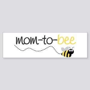 mom to be t shirt Bumper Sticker