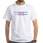 How come Police can lie White T-Shirt