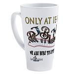 Dj Bumps 17 Oz Latte Mug