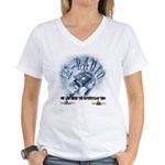 Dj Bumps V-Neck T-Shirt