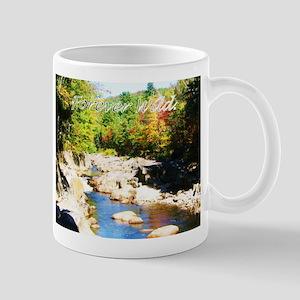 Forever Wild Autumn Waterfall Mug