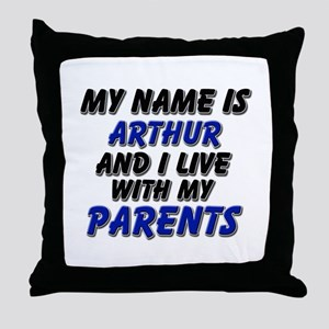 my name is arthur and I live with my parents Throw