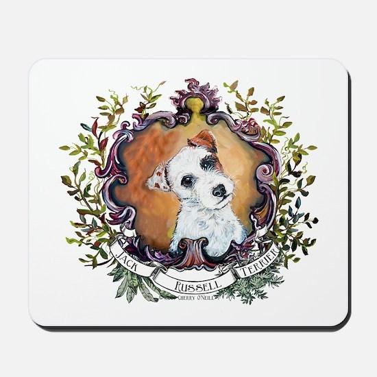 Vintage Jack Russell Terrier Mousepad