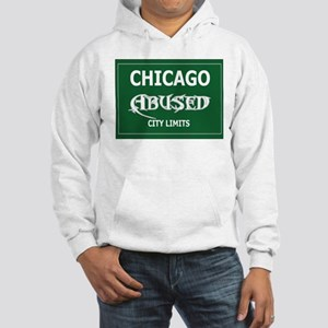 Abused Men's Hooded Sweatshirt