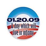 "Anti Obama 3.5"" Button (100 pack)"