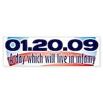 Anti Obama Bumper Sticker (50 pk)