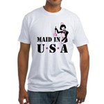 Maid Humor Fitted T-Shirt