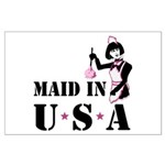 Maid Humor Large Poster