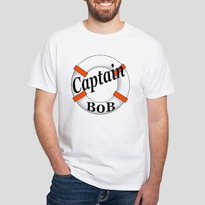 Captain Bob's White T-Shirt