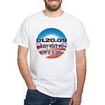 Anti Obama White T-Shirt