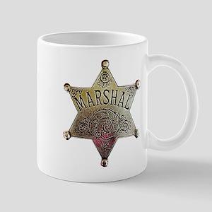 Old West Marshal Mug