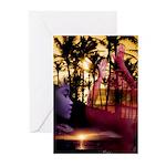 Hawaiian Sunset Greeting Cards (Pk of 10)