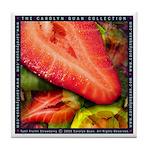 """""""Tutti Fruitti Strawberry"""" Tile Coaster"""
