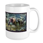 Elephant Fantasy Large Mug