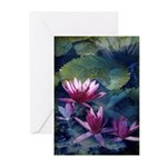 Water Lily Greeting Cards (Pk of 10)