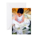 Child and Polar Bear Greeting Cards (Pk of 10)