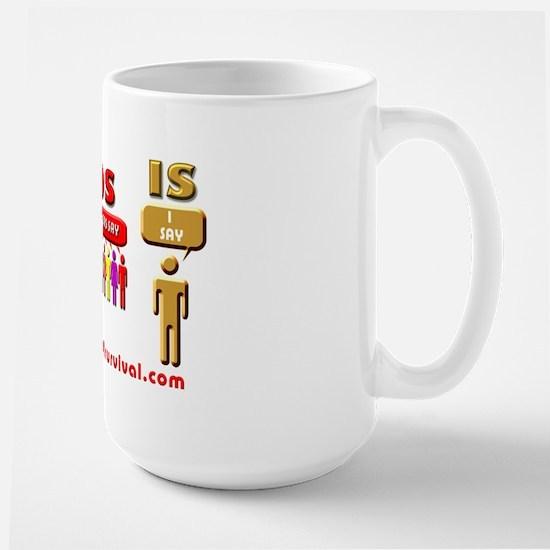 SSOSIS Large Mug