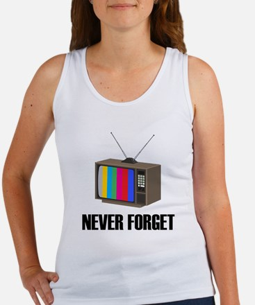 Never Forget Regular TV Women's Tank Top