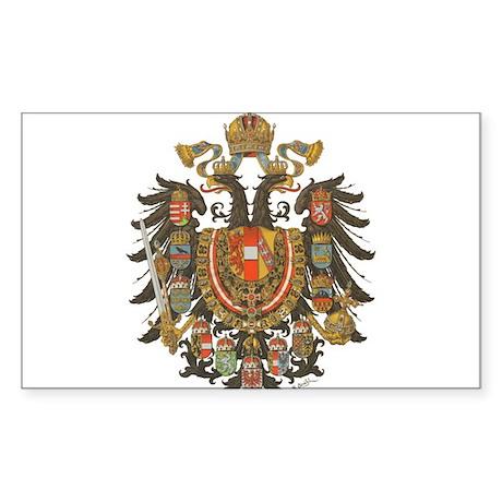 Austria-Hungary Rectangle Sticker