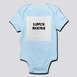 LINUX ROCKS Infant Creeper