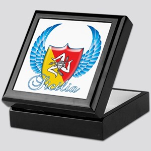 Sicilian Pride Keepsake Box
