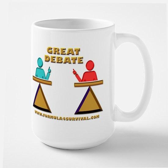 Great Debate Large Mug