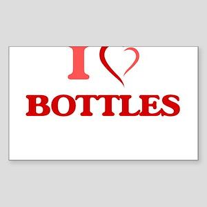I Love Bottles Sticker