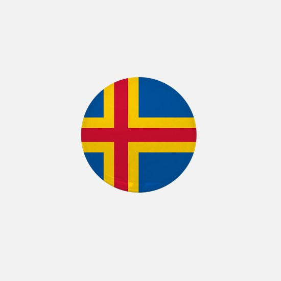 Flag of Aaland Mini Button