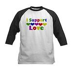 I support Love Kids Baseball Jersey