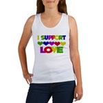 I support Love Women's Tank Top