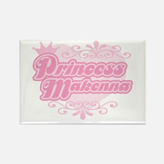 Princess Makenna Rectangle Magnet