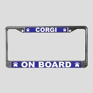 Corgi On Board- Blue