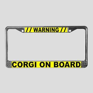 Warning Corgi On Board