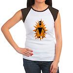 Bionic Robot Women's Cap Sleeve T-Shirt