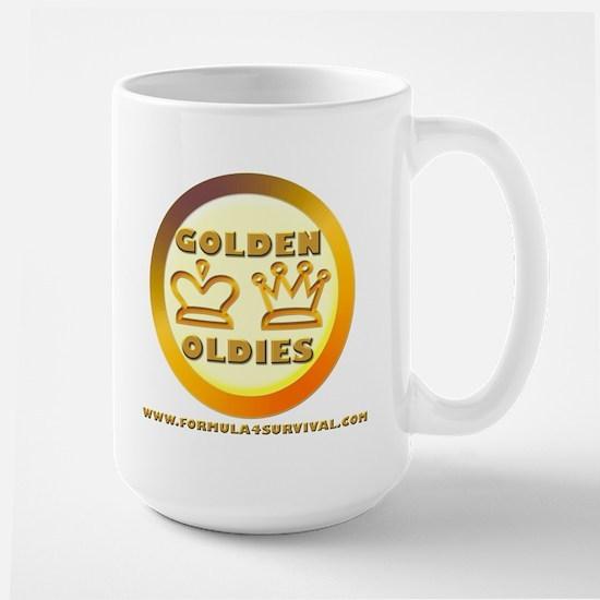 Golden Oldies Large Mug