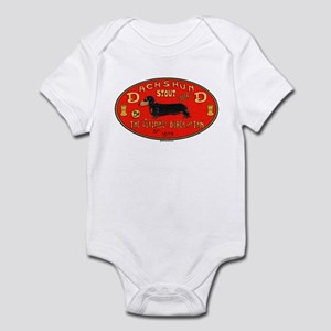 Dachshund Stout Infant Bodysuit