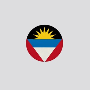 Flag of Antigua and Barbuda Mini Button