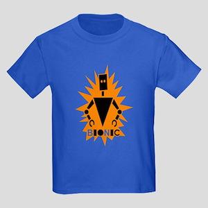 Bionic Robot Kids Dark T-Shirt